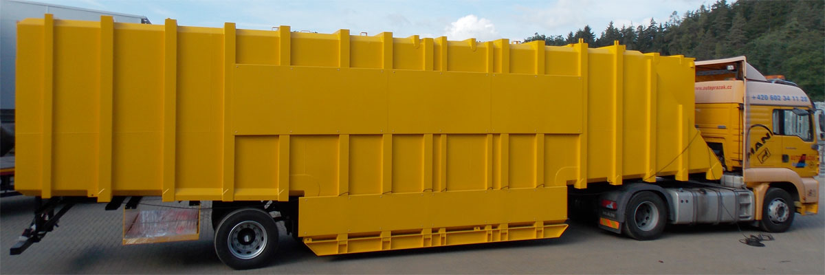 Duplex anti-corrosion protection of products for the petrochemical industry – mobile tanks for oil extraction.
